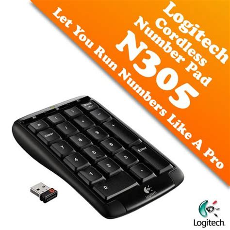 Keyboard Numeric Logitech logitech wireless number pad n305 th end 4 24 2018 3 15 pm