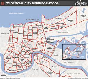 Neighborhoods In Map How Do We Map New Orleans Let Us Count The Ways Nola