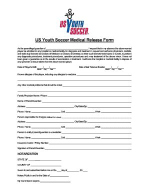 soccer registration form template badic soccer waiver form fill printable