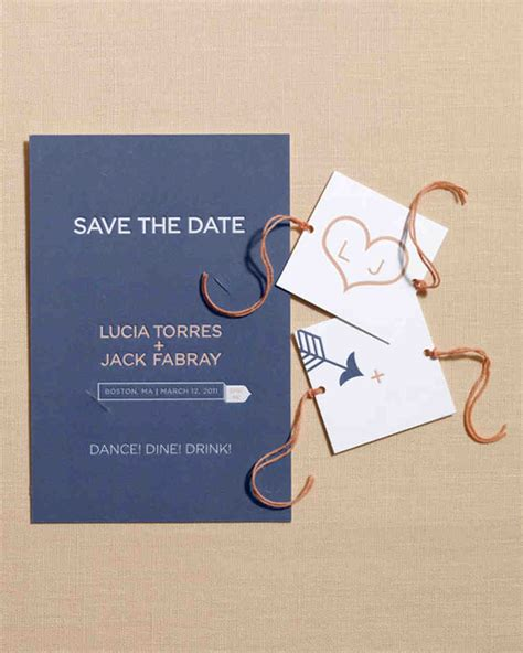 Save The Date by 30 Diy Save The Dates To Kick Your Wedding Martha