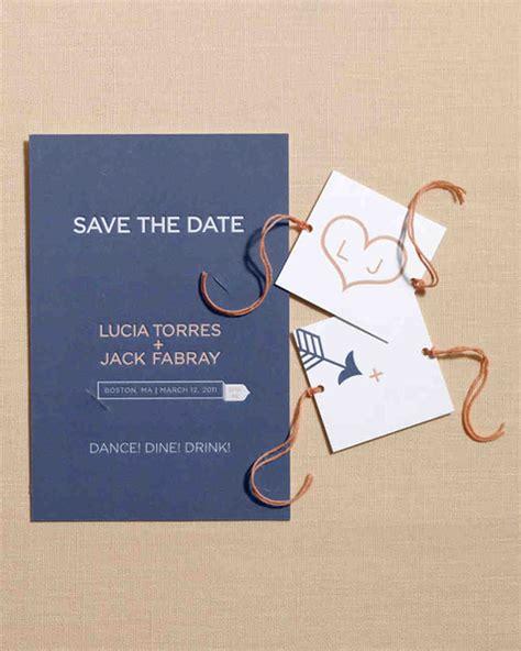 diy wedding save the date 30 diy save the dates to kick your wedding martha