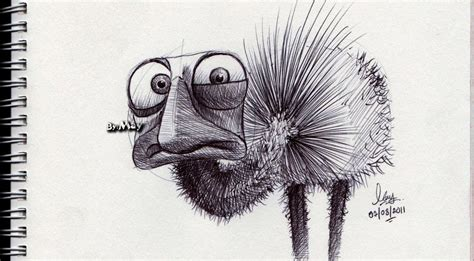 Sketches With Pen by Pen Sketch By Ocmay On Deviantart