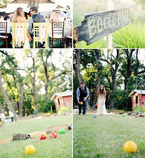 backyard wedding games five outdoor wedding lawn games