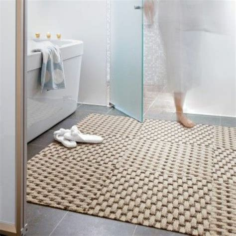 Tapis Toilette Ikea by On Vous Pr 233 Sente Le Tapis De Salle De Bain En 45 Images