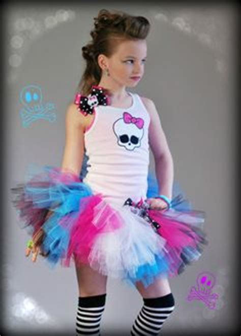 Stelan Rok Celana Pop Tutu Baby rock and roller skate retro 80s baby neon rainbow tutu