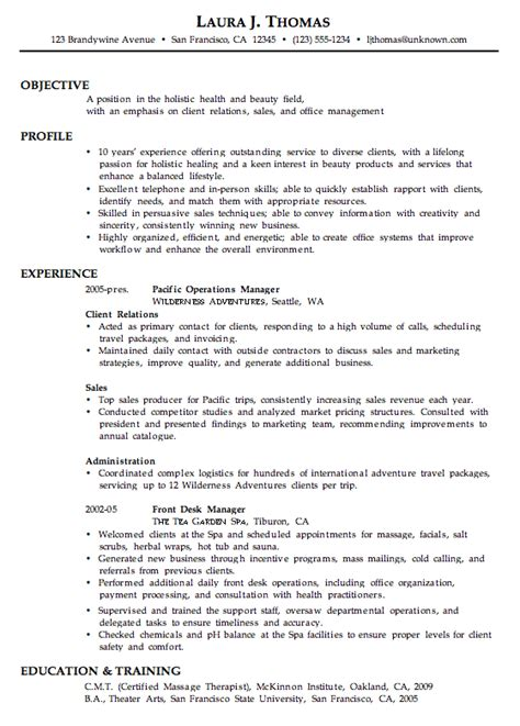 cosmetology resume sles combination resume sle customer service sales office mgt