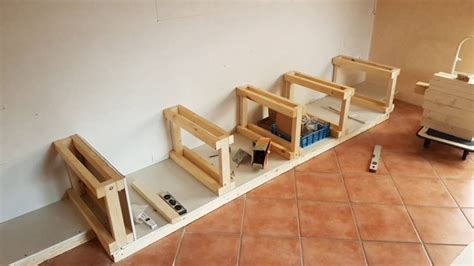 tv wand bauen tv wand selber bauen