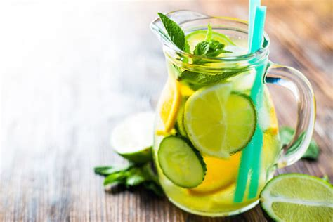 Detox To Improve Digestion by 6 Detox Water Ingredients To Help Improve Your Digestive