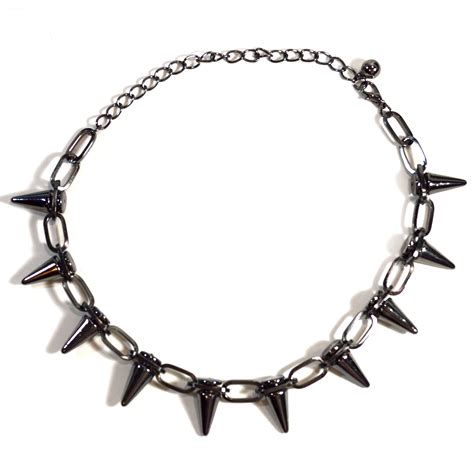 spike for jewelry spike statement necklace everyday jewelry
