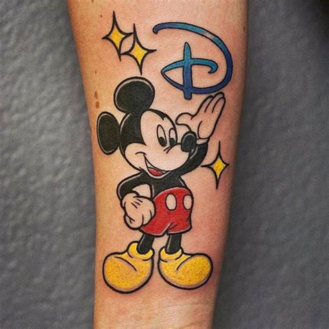 happy birthday mickey tattoo by helga hagen