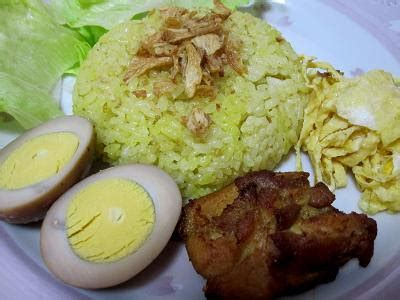 resep membuat nasi kuning beserta lauknya makan nyouk buat nasi kuning yuk