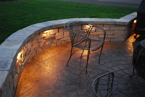 Patio Wall Lighting Ideas Integral Lighting Landscape Philadelphia By Integral Lighting