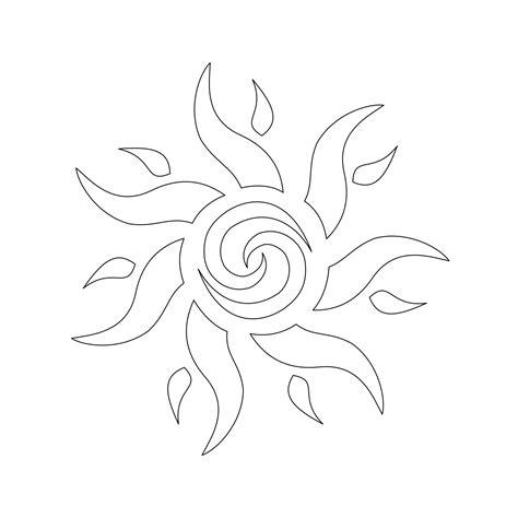 tattoo ideas stencils sun stencils tattoo stencil design from kingdom pictures