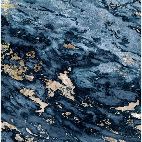 wallpaper blue marble navy blue beige sarrancolin marble panoramic wallpaper