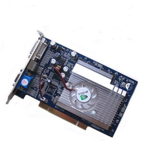 Vga Card Nvidia Geforce Fx 5500 256mb nvidia geforce fx5500 pci graphic card dvi ebay