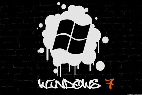 Wallpaper Graffiti Windows 7 | windows 7 graffiti wallpaper high definition wallpapers
