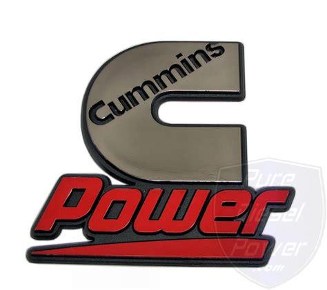 www power cummins power stick on logo ci3571