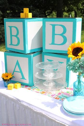 Turquoise Baby Shower by Yellow And Turquoise Baby Shower Baby Shower Ideas