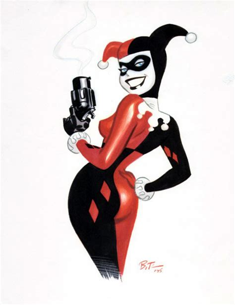 harley quinn at high dc books 10 comic book characters that didn t debut in comic books