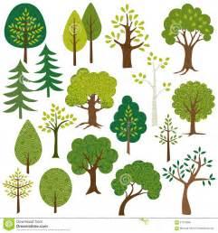 tree clip art stock illustration image of aspen hand