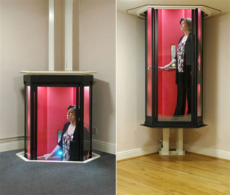 an entrance trek personal home elevator