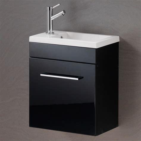 Black Bathroom Vanity Units by Black Bathroom Vanity Unit Hudson Reed 600mm Hacienda