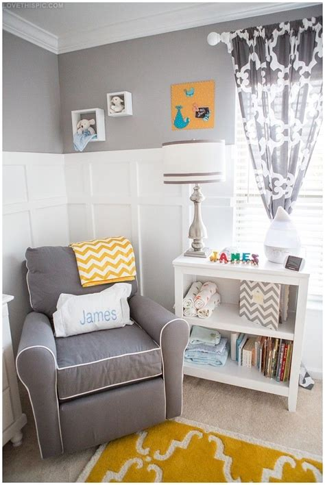 Yellow Grey Nursery Decor 25 Best Ideas About Yellow Baby Rooms On Pinterest Baby Room Gray Neutral Nursery And