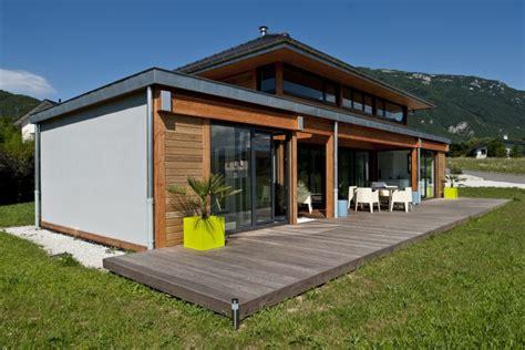 Construction Maison Passive Ossature Bois 4139 by Vision Bois R 233 Alisations Maison Ossature Bois Poteau