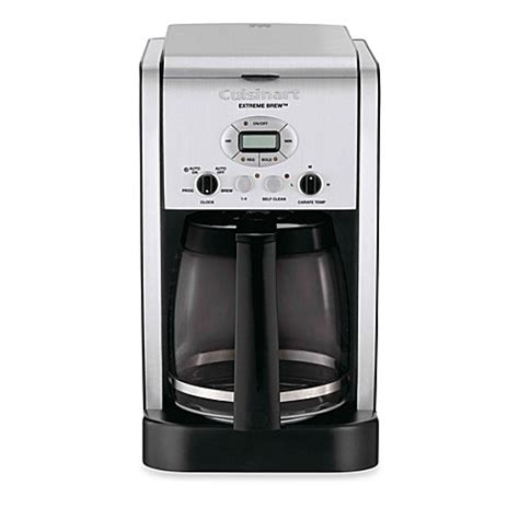 cuisinart extreme brew  cup programmable coffee maker