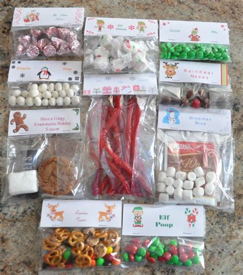 christmas treat bag ideas ten creative exles