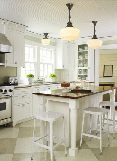 Farmhouse Kitchen From School House Electric Traditional Farmhouse Kitchen Light