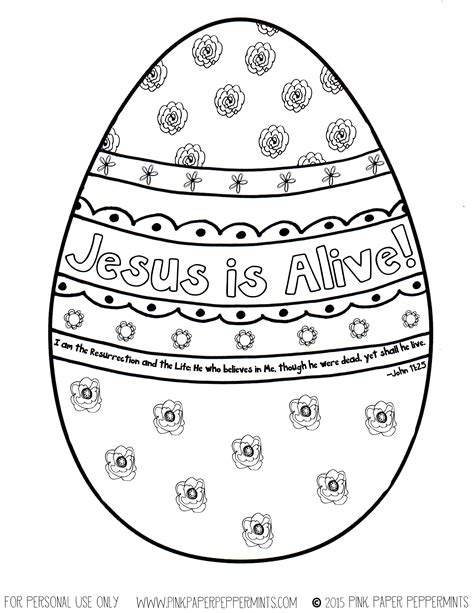 easter coloring pages jesus is alive quilty mcquilterkin pink paper peppermints she works