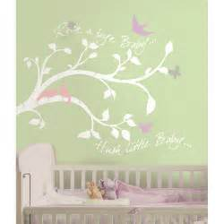 baby wall art stickers new white tree branches wall decals baby girl or boy