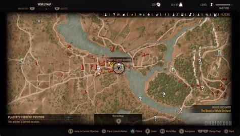 golden sturgeon witcher 3 map witcher 3 golden sturgeon location