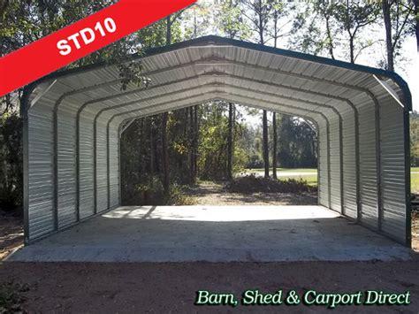 Metal Car Sheds Sale Barn Shed Carpot Direct Metal Carports Storage Sheds