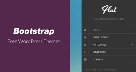bootstrap themes wiki 21 free responsive bootstrap wordpress themes webdesignboom