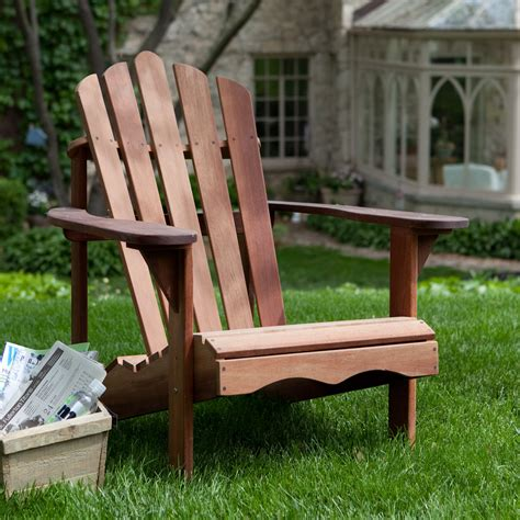 belham living richmond deluxe shorea wood adirondack chair adirondack chairs  hayneedle