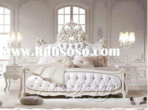 lulusoso bedroom furniture wood princess carriage bed simple home decoration