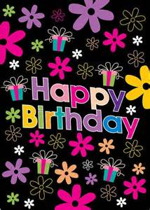 retro happy birthday flowers pictures photos and images