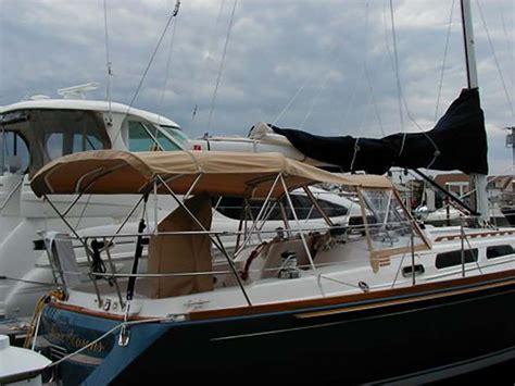 sailboat sun awnings custom canvas for sailboats