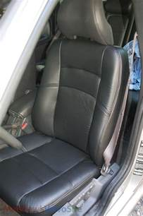 Seat Cover Volvo V70 Replaced Driver S Leather Seat Cover 98 V70