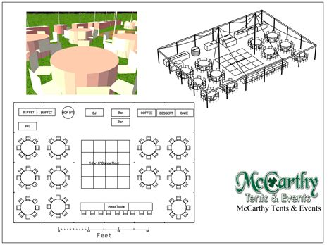 event layout diagram weddings mccarthy tents events party and tent