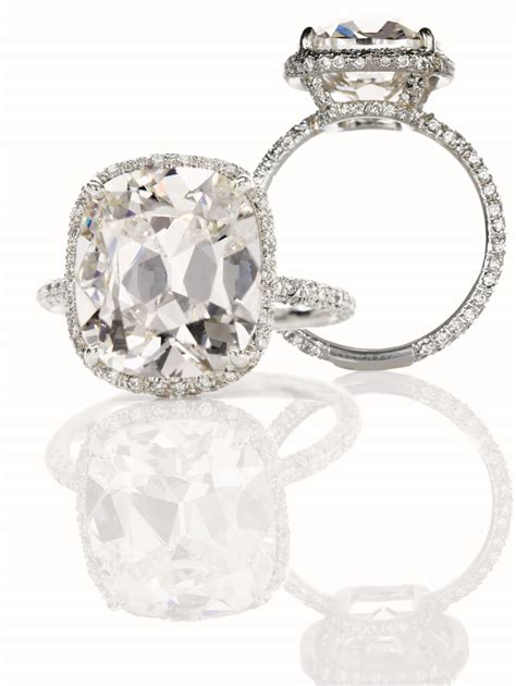 Cushion Cut Engagement Rings by Cushion Cut With Cushion Cut