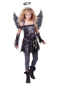 scary halloween costumes for girls teen spooky angel costume
