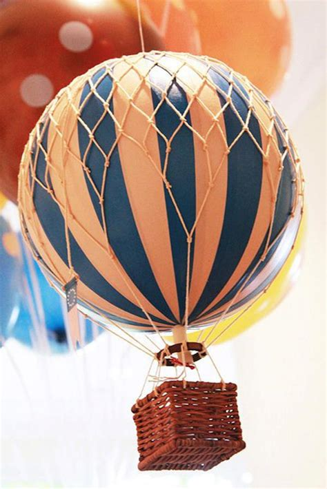 Vintage Air Balloon Decor by Kara S Ideas Vintage Air Balloon 1st Birthday