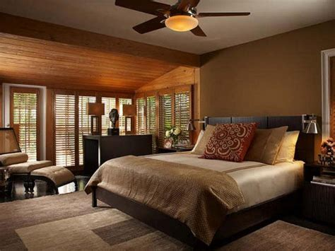 warm relaxing bedroom colors brown interior color theme deesign ideas with modern