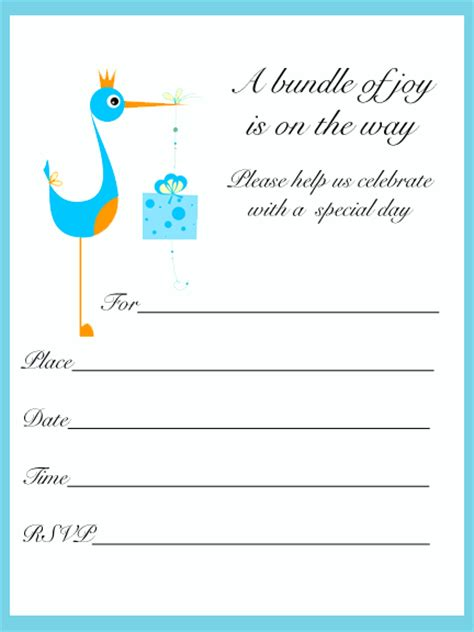 template baby shower free printable baby boy shower invitations templates