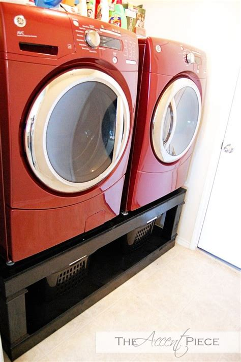 Build Your Own Washer Dryer Pedestal Laundry Room How To Build A Laundry