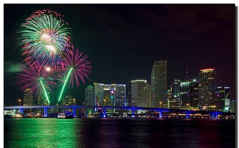 fireworks miami new years what to do on new years in miami miami 411