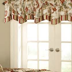 Waverly Kitchen Curtains And Valances Waverly Charleston Fresh Chirp 50 Quot Curtain Valance Reviews Wayfair